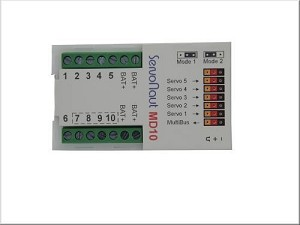 Servonaut Multi-Bus Decoder MD10
