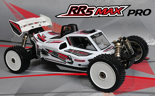 MCD Racing RR5 Buggy MAX Pro - Rolling Chassis