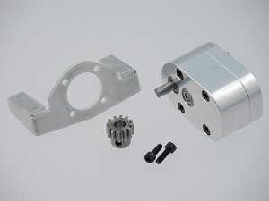Servonaut Gearbox with Mount and Pinion for GM32 Gearbox Motors