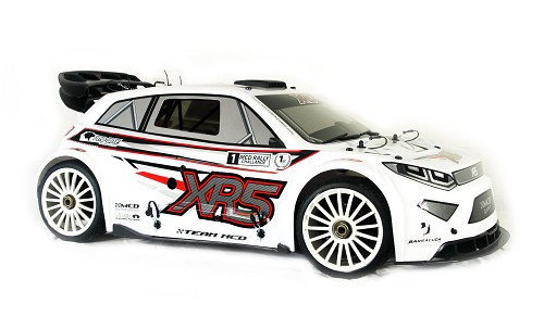 MCD XR5 Rally Competition Rolling Chassis. White